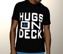 Hugs On Deck Tee